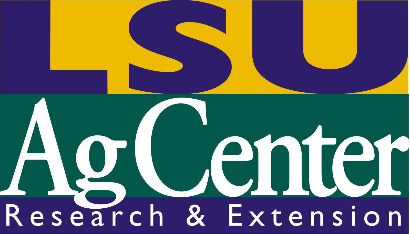 LSU Ag Center Research and Extension Logo